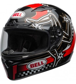 Casque BELL Qualifier DLX Mips Isle of Man 2020 Gloss Red/Black taille