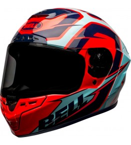 Casque BELL Star DLX Mips Labyrinth Gloss Blue/Red