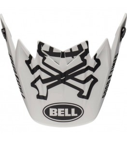 Visière BELL Moto 9 Flex Fasthouse WRWF White/Black/Red