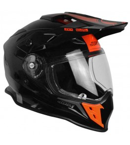 Casque JUST1 J34 Adventure Shape Red Neon Gloss taille