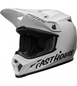 Casque BELL MX-9 Mips - Fasthouse Gloss White/Black taille XS