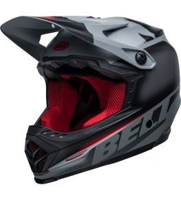 Casque BELL Moto-9 Youth Mips Glory Black/Gray/Crimson taille YL/YXL