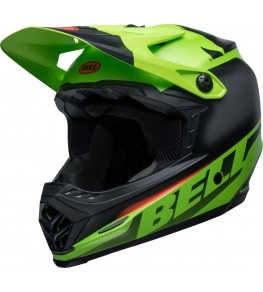 Casque BELL Moto-9 Youth Mips - Glory Green/Black/Infrared