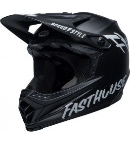 Casque BELL Moto-9 Youth Mips - Fasthouse Matte Black/White