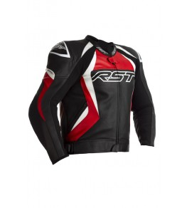 Blouson RST Tractech EVO 4 cuir - rouge taille S