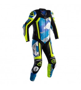 Combinaison RST Pro Series Airbag cuir - bleu/camo taille S