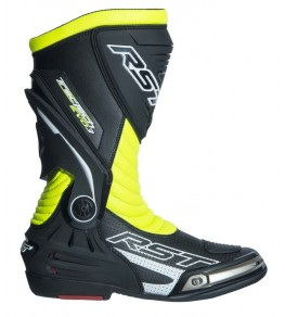 Bottes RST TracTech Evo 3 CE cuir - jaune fluo taille 37
