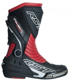 Bottes RST TracTech Evo 3 CE cuir - rouge fluo taille 37