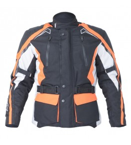 Veste textile RST Rallye - rouge fluo taille XL