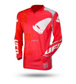 Maillot UFO Indium rouge taille