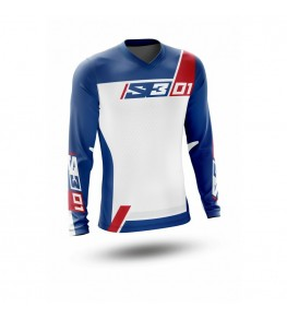 Maillot S3 Collection 01 - Patriot rouge/bleu taille XL