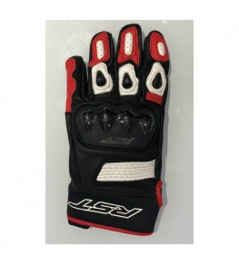 Gants RST Freestyle II cuir rouge taille S
